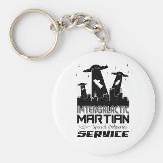 Entrega de Scape Martian de la ciudad Llavero Personalizado