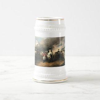 Entrega de Yorktown de Juan Trumbull Jarra De Cerveza