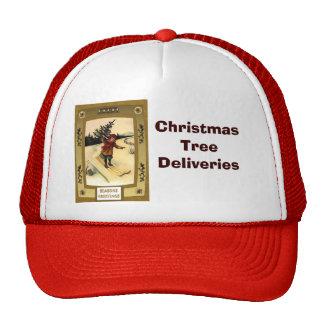 Entrega del árbol de navidad - gorra lindo del nav