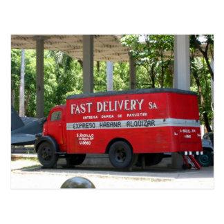 entrega del revolución postales