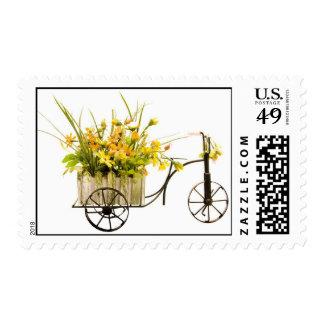 Entrega del tiempo de primavera sellos
