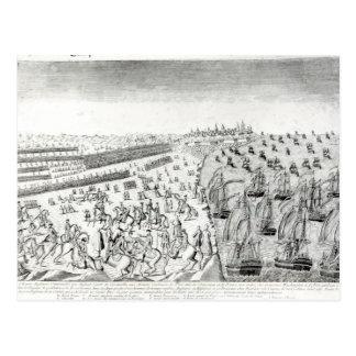 Entrega en Yorktown 1781 Postales