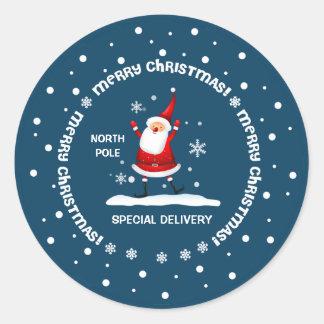 Entrega especial del pegatina del navidad de Polo