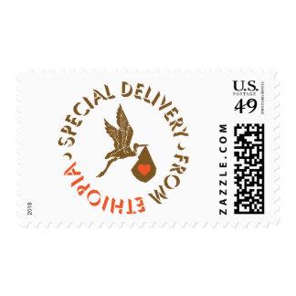 Entrega especial - franqueo sello