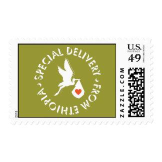 Entrega especial - franqueo sellos