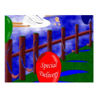 Entrega especial postal