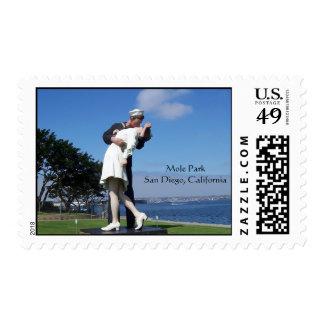 Entrega incondicional timbre postal