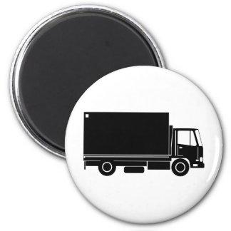 entrega que mueve a truck van lorry iman para frigorífico