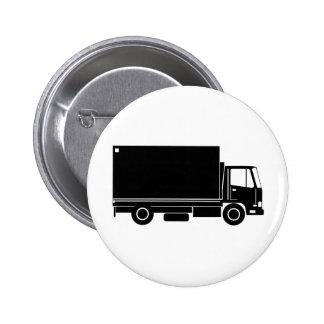 entrega que mueve a truck van lorry pin