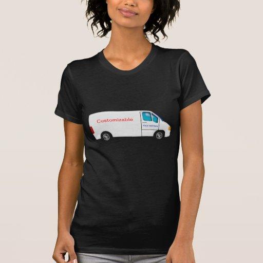 Entrega Van blanca - personalizable Camisetas