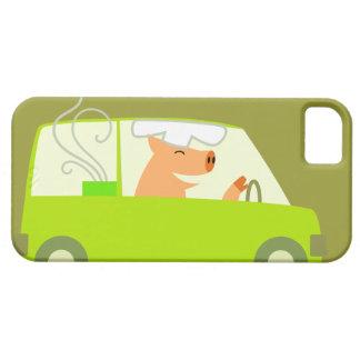 Entrega vegetariana de la comida iPhone 5 fundas