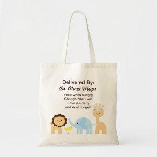 Entregado por el doctor New Arrival Baby Bag Bolsa Tela Barata