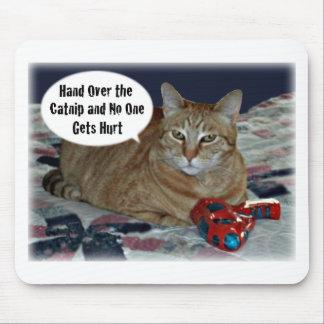 Entregue el Catnip y nadie consigue daño Mouse Pads