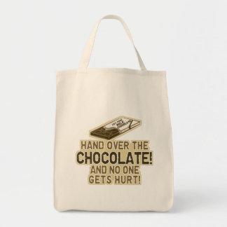 Entregue el chocolate