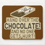 Entregue el chocolate tapetes de ratones