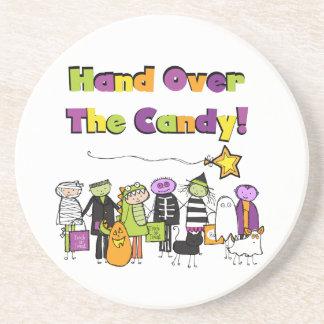 Entregue las camisetas y los regalos de Halloween  Posavasos Personalizados