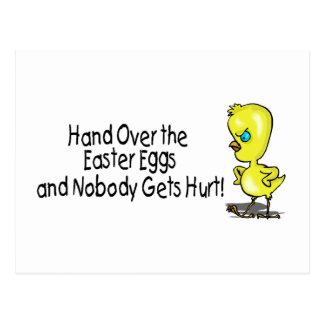 Entregue los huevos de Pascua y nadie consigue dañ Tarjetas Postales