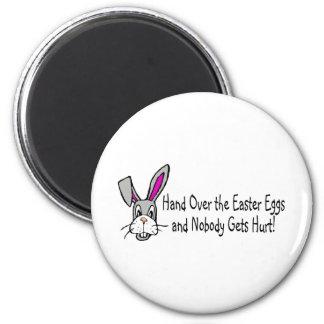 Entregue los huevos de Pascua y nadie consigue el  Imán Redondo 5 Cm