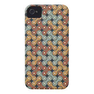 Entrelace el vínculo retro Case-Mate iPhone 4 protector