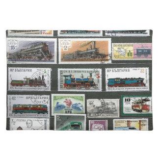 Entrena a las locomotoras de ferrocarriles 4 mantel