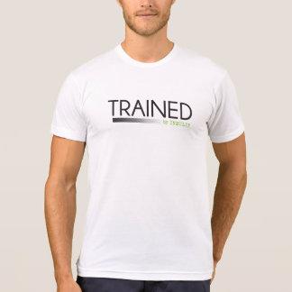 Entrenado por el logotipo de la insulina camiseta
