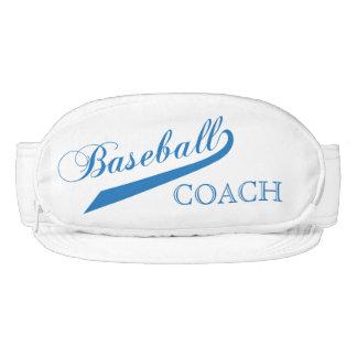 Entrenador de béisbol azul visera