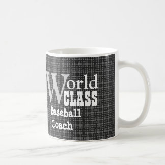 Entrenador de béisbol de calidad mundial o taza clásica
