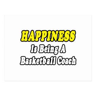 Entrenador de béisbol de la felicidad… tarjeta postal