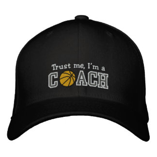 Entrenador de béisbol divertido gorras de béisbol bordadas