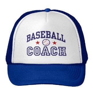 Entrenador de béisbol gorra