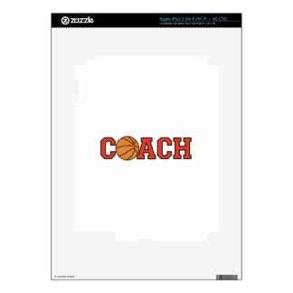 Entrenador de béisbol iPad 3 pegatina skin