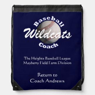 Entrenador de béisbol mochila