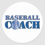 Entrenador de béisbol pegatinas