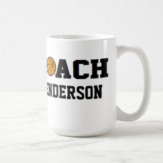 Entrenador de béisbol - personalizado taza clásica