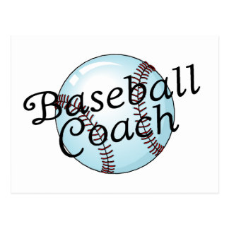 Entrenador de béisbol postal