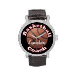 Entrenador de béisbol relojes