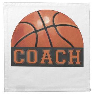 Entrenador de béisbol servilleta de papel
