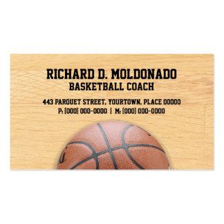 Entrenador de béisbol tarjetas de visita