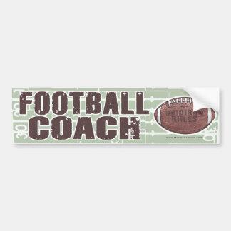 Entrenador de fútbol Bumpersticker Etiqueta De Parachoque