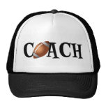 Entrenador de fútbol gorras de camionero