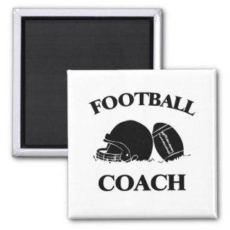 Entrenador de fútbol imán de nevera