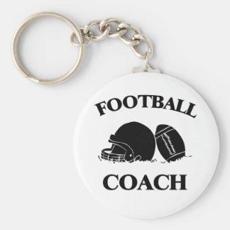 Entrenador de fútbol llaveros personalizados