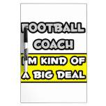 Entrenador de fútbol. Soy un poco una gran cosa Pizarra