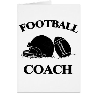 Entrenador de fútbol tarjeton