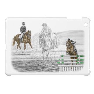 entrenamiento combinado de los caballos de tres
