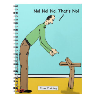 """""""Entrenamiento cruzado """" Spiral Notebook"""