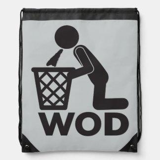 Entrenamiento de la aptitud de WOD - Puke Mochila