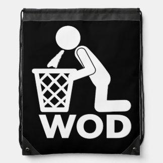 Entrenamiento de la aptitud de WOD - Puke Mochilas