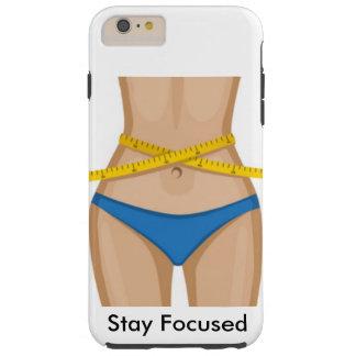 Entrenamiento de la cintura funda de iPhone 6 plus tough