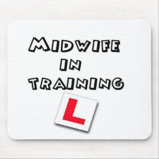 entrenamiento de la partera mousepad